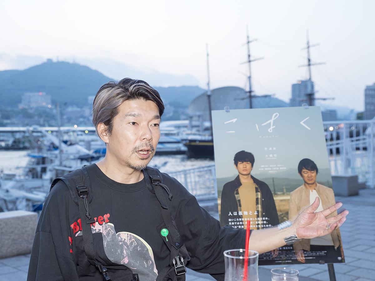 ラストシーンについて話す横尾監督